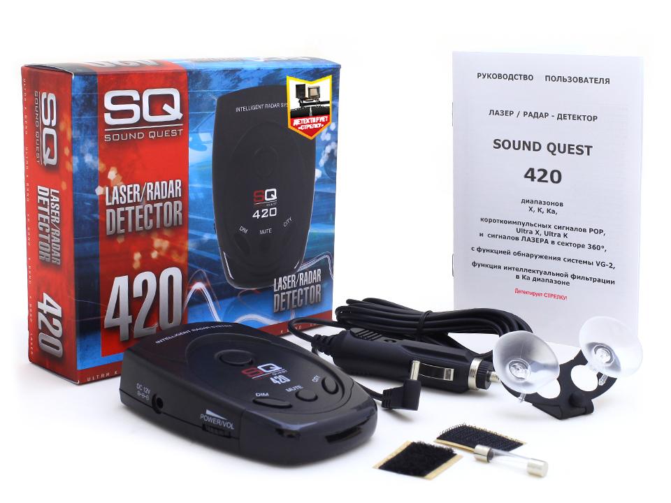 Sound quest sq 420 радар детектор